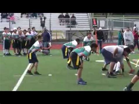 Hoover Middle School Flag Football Championship - YouTube