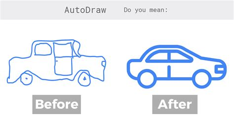 Google AutoDraw Instantly Turns Your Scribbles Into