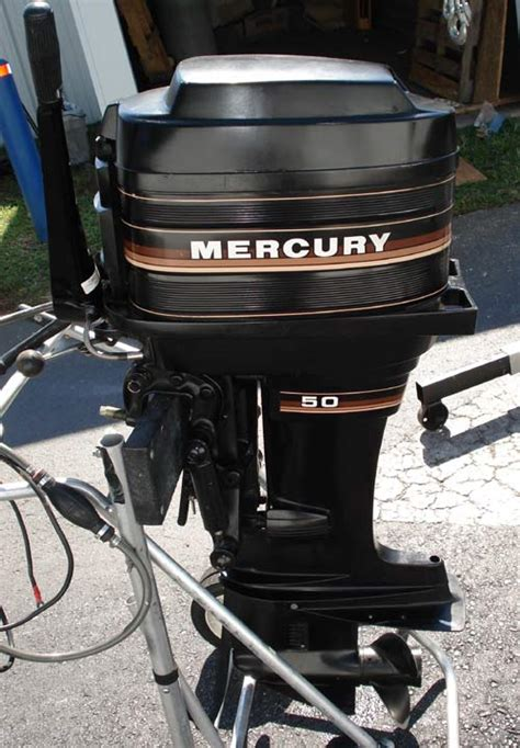 50hp Mercury Outboard For Sale