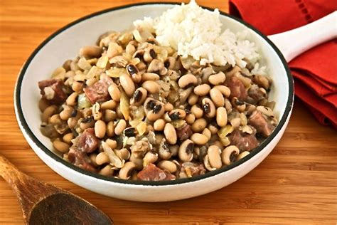 Luck & Money Foods for New Year's Day, Blackeye Peas