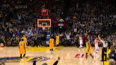 Steph Curry Drains the Half-Court Shot - YouTube