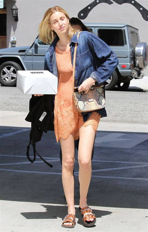 Whitney Port Street Style - With a Cake in West Hollywood